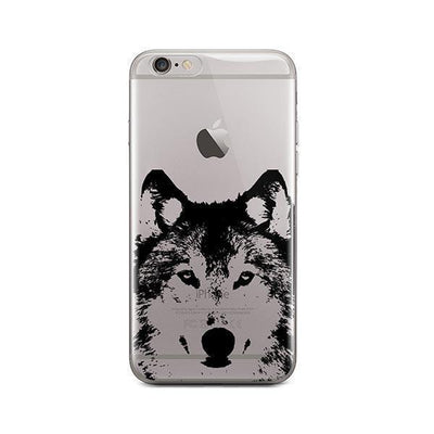 Henna Wolf - iPhone Clear Case