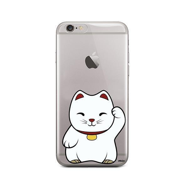 Lucky Cat - iPhone 6 Plus / 6S Plus Clear Case