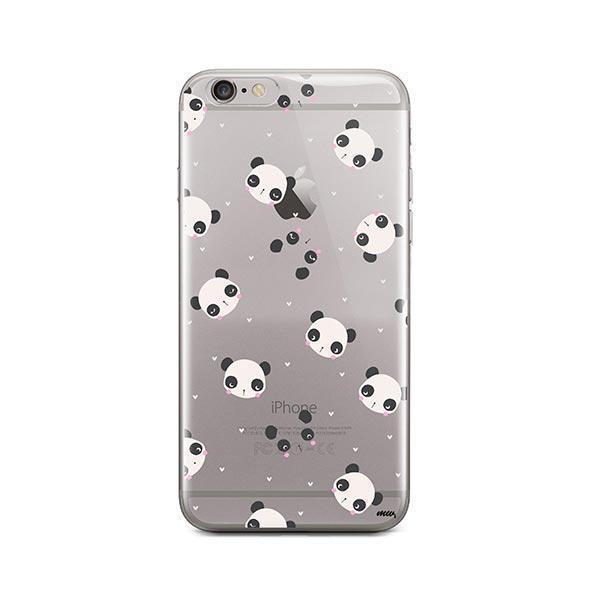 Pandamonium - iPhone 6 / 6S Case Clear