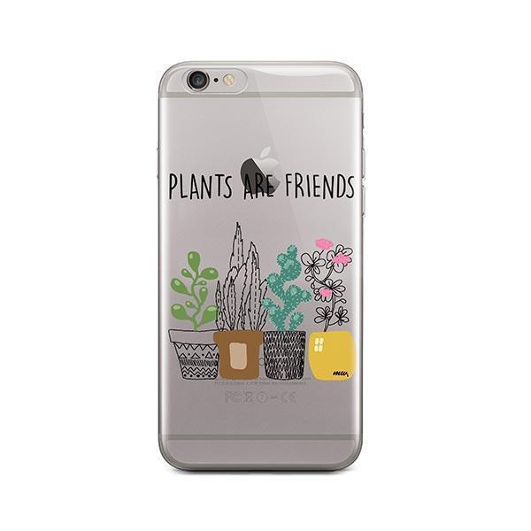 Plants Are Friends iPhone 6 / 6S Case Clear