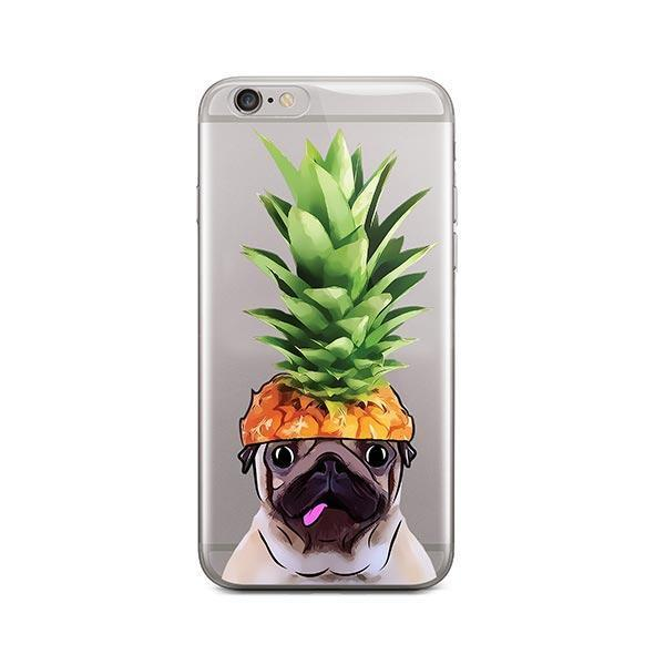Pineapple Pug - iPhone 6 Plus / 6S Plus Clear Case
