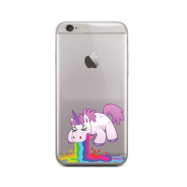 Puking Unicorn iPhone 6 / 6S Case Clear