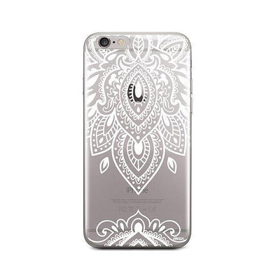 Sanskrit Mandala - iPhone Clear Case