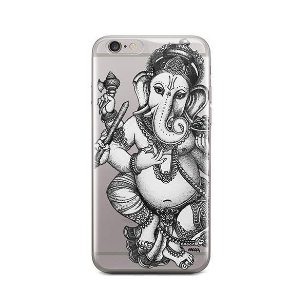 Sketch Ganesh iPhone 6 / 6S Case Clear