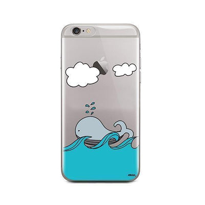 The Whale Case - iPhone Clear Case