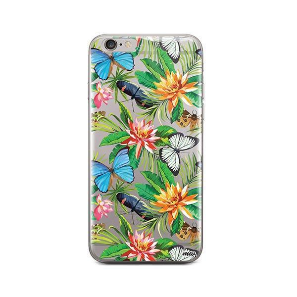 Tropical Butterfly iPhone 6 / 6S Case Clear