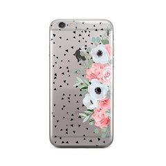 Anemone Rose iPhone 6 / 6S Case Clear
