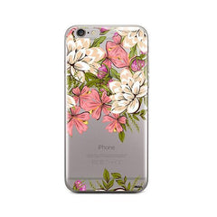 Angela Floral iPhone 6 / 6S Case Clear