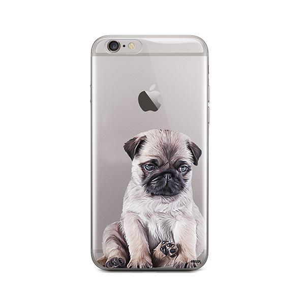 brand new 54c31 8f5e9 Baby Pug - iPhone 6 / 6S Clear Case