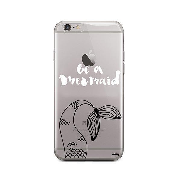 Be a Mermaid iPhone 6 / 6S Case Clear