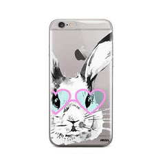 Beverly Hills Bunny - iPhone 6 / 6S Case Clear