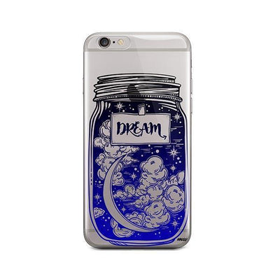 Blue Dream - iPhone Clear Case