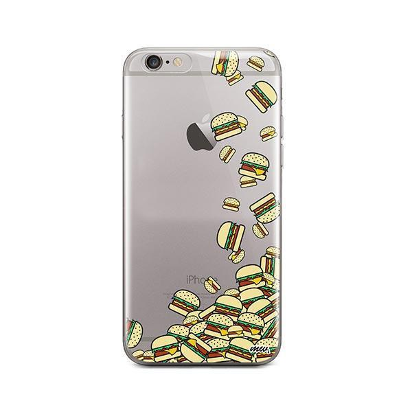 Burger Stuck iPhone 6 / 6S Case Clear