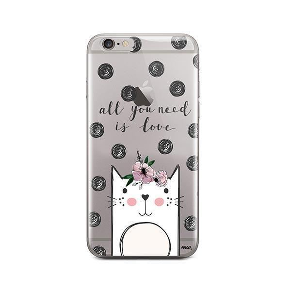 Cat Love - iPhone 6 Plus / 6S Plus Clear Case
