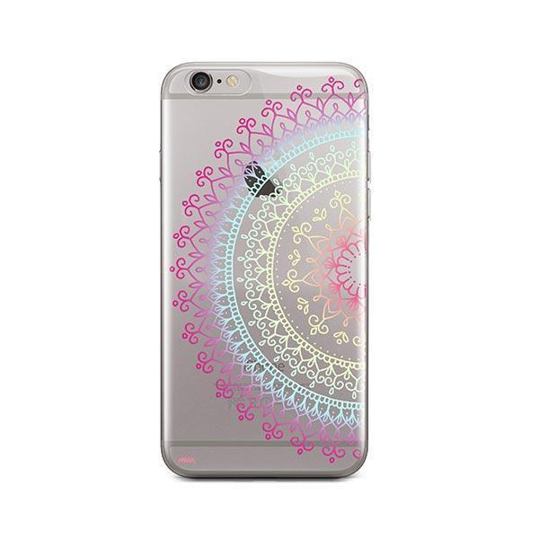 Cotton Candy Mandala iPhone 6 / 6S Case Clear