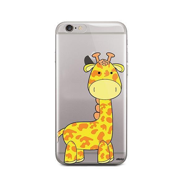 Cute Giraffe - iPhone 6 / 6S Case Clear