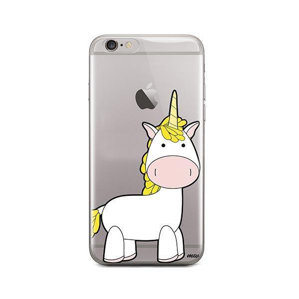 Cute Unicorn iPhone 6 / 6S Case Clear