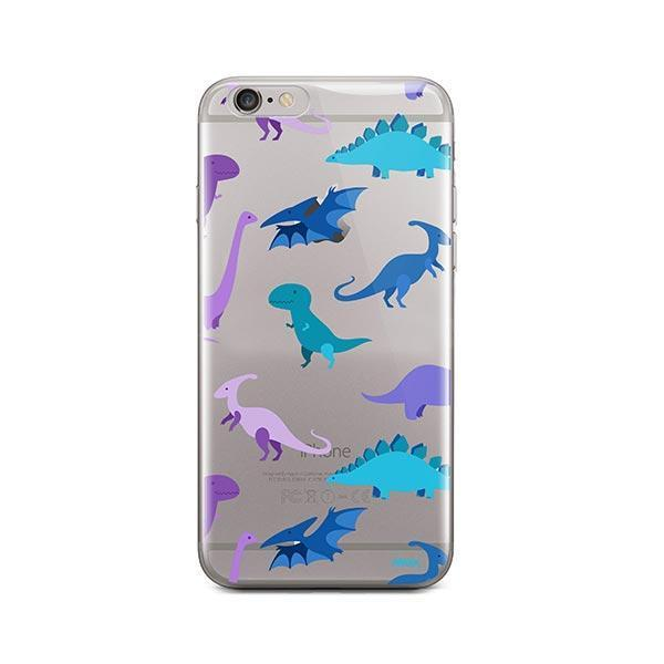 newest f4d8e 29cec Dino Time iPhone 6 / 6S Case Clear