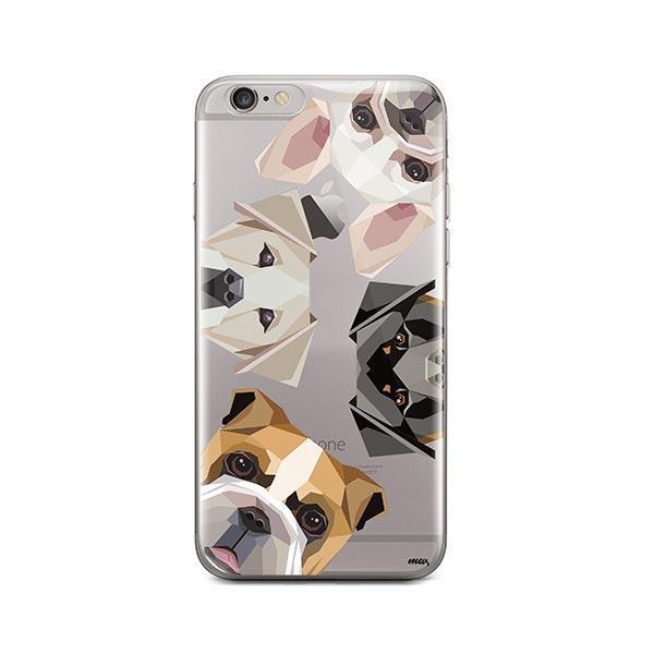 Dogs with Attitude - iPhone 6 / 6S Clear Case
