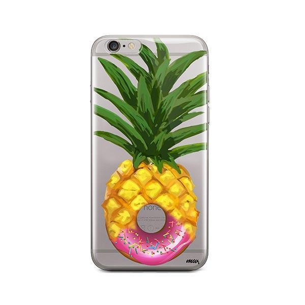 Donut Pineapple iPhone 6 Plus / 6S Plus Case Clear