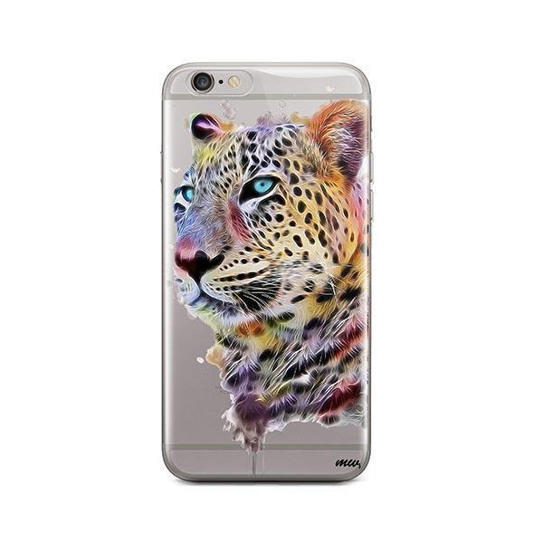 Dripping Leopard - iPhone 6 / 6S Case Clear