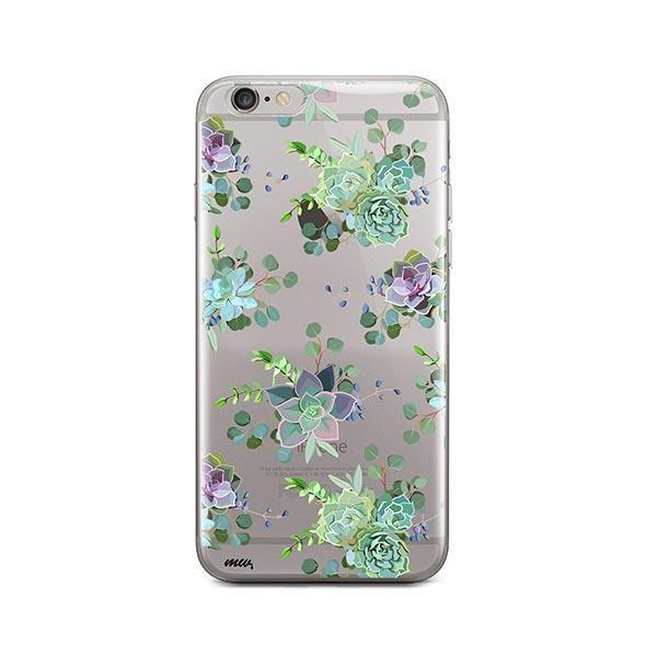 Echeveria iPhone 6 / 6S Case Clear