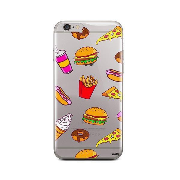 Fast Food iPhone 6 Plus / 6S Plus Case Clear