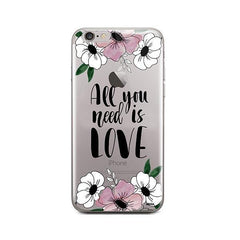 All You Need is Love iPhone 6 / 6S Case Clear