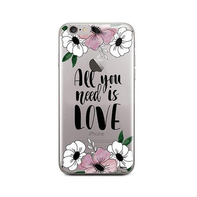 All You Need is Love - iPhone Clear Case