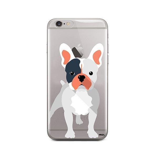 French Bulldog - iPhone 6 Plus / 6S Plus Clear Case