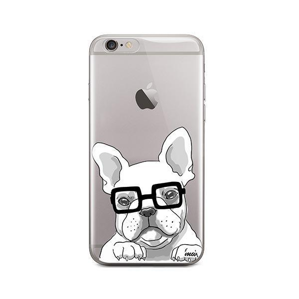 The Frenchie - iPhone 6 Plus / 6S Plus Clear Case