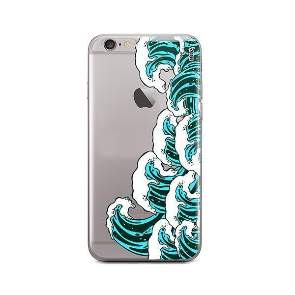 Full Great Wave Kanagawa iPhone 6 Plus / 6S Plus Case Clear