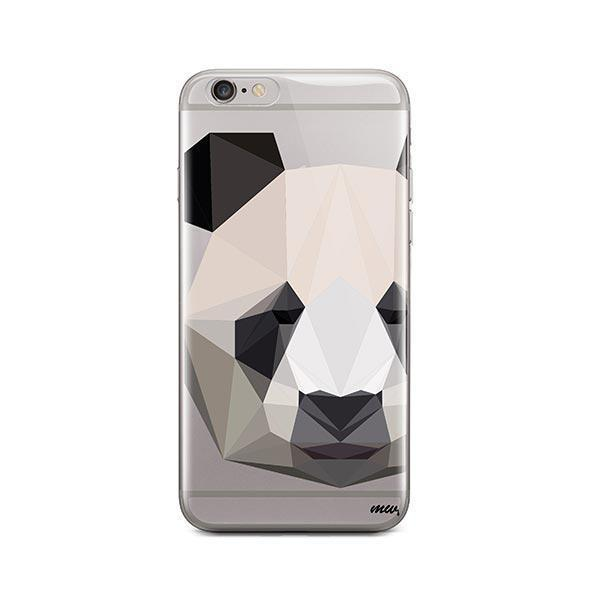 Geo Panda - iPhone 6 / 6S Case Clear