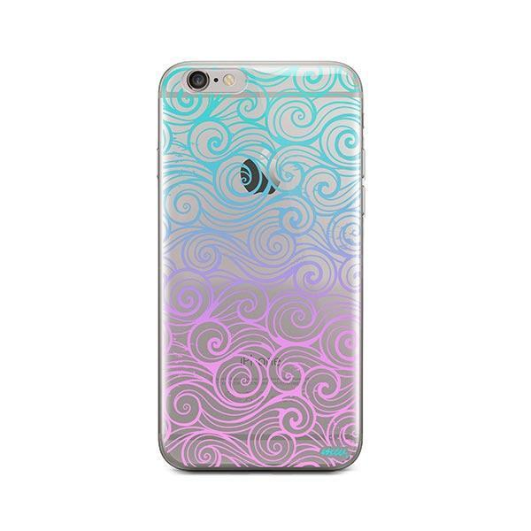 Gradient Wave iPhone 6 / 6S Case Clear