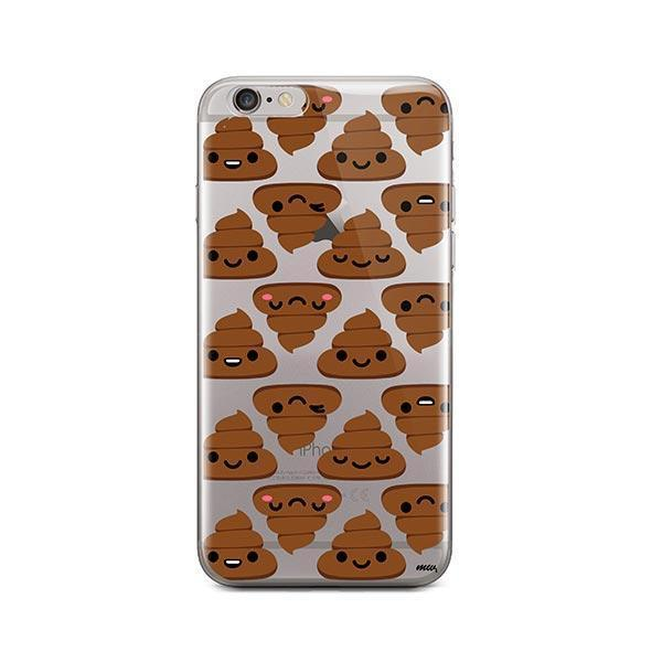 Happy Poo iPhone 6 / 6S Case Clear