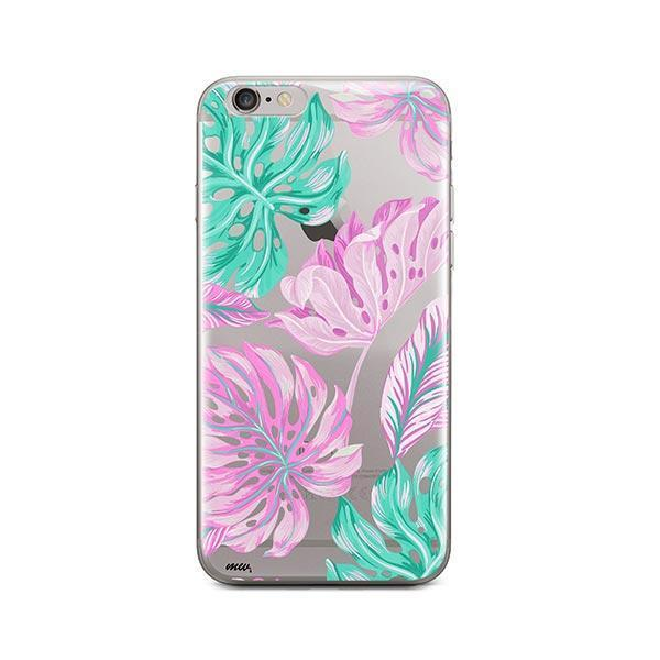 Hawaiian Garden iPhone 6 / 6S Case Clear
