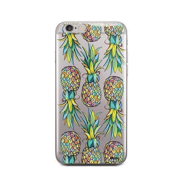 Hawaiian Pineapple iPhone 6 Plus / 6S Plus Case Clear