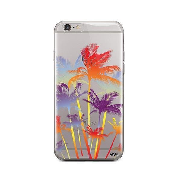Hipster Palm Tree iPhone 6 Plus / 6S Plus Case Clear