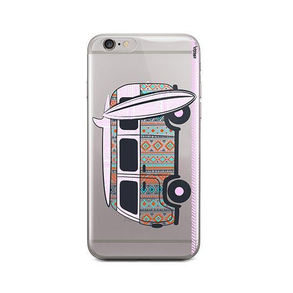 Hipster Van iPhone 6 / 6S Case Clear