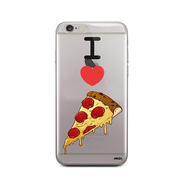 I Love Pizza iPhone 6 Plus / 6S Plus Case Clear