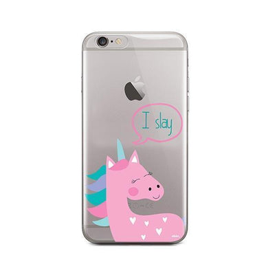 I Slay - iPhone Clear Case