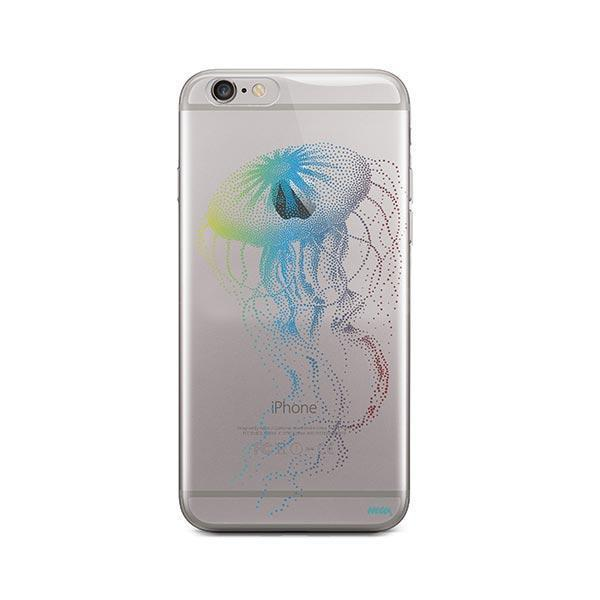 Jelly Fish - iPhone 6 / 6S Case Clear