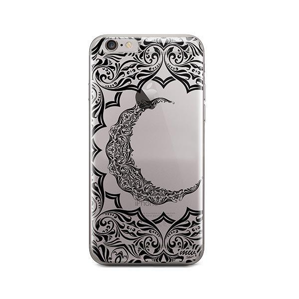 Crescent Moon Henna iPhone 6 / 6S Case Clear