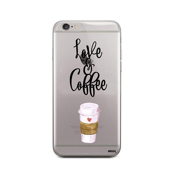 Love And Coffee iPhone 6 Plus / 6S Plus Case Clear