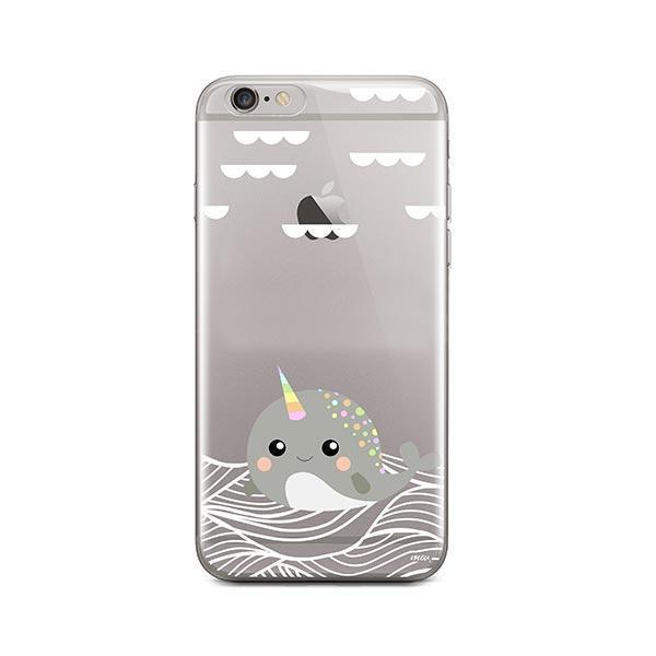 Narwhal - iPhone 6 / 6S Case Clear