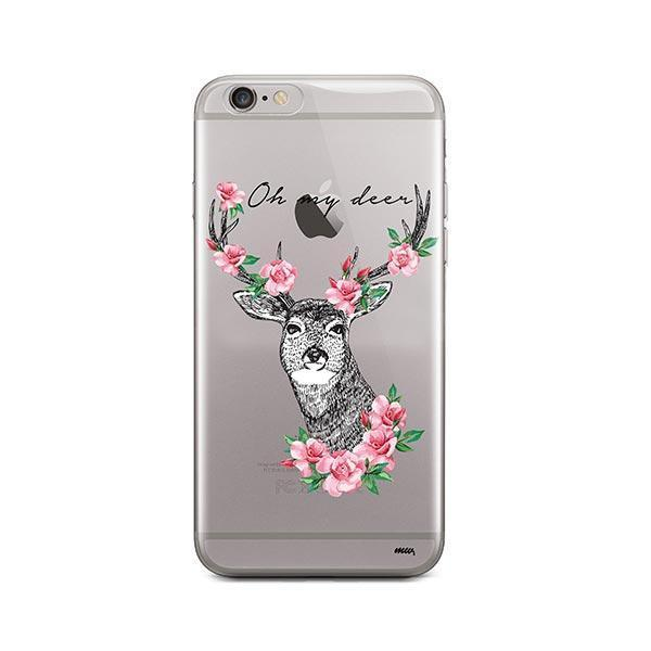 Oh My Deer - iPhone 6 / 6S Case Clear