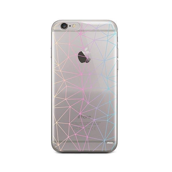 Ombre Geo iPhone 6 / 6S Case Clear