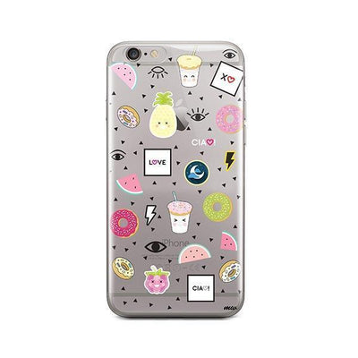The Patch - iPhone Clear Case