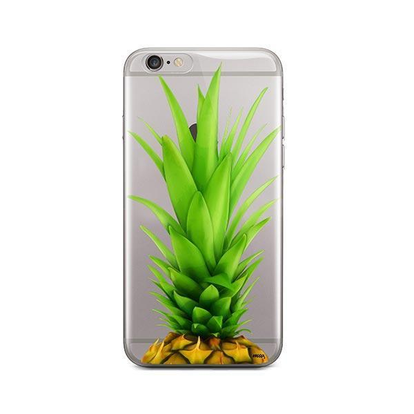 Pineapple Head iPhone 6 Plus / 6S Plus Case Clear
