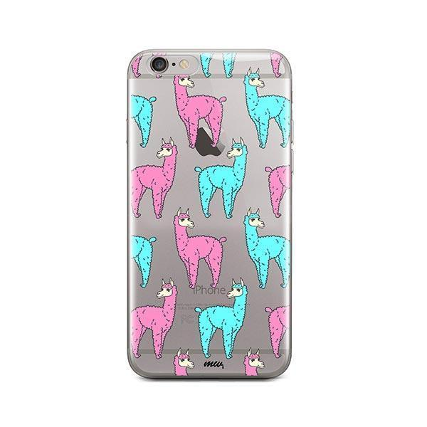 Poppin Llama - iPhone 6 / 6S Case Clear